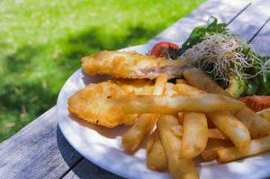 Fisch & Chips Hafenimbiss Stagniess